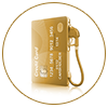 Lifetime Free Insignia World Debit MasterCard