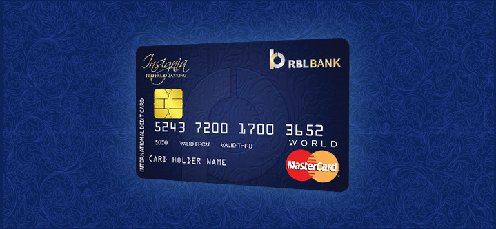 Insignia World Debit MasterCard